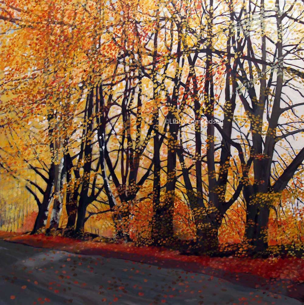 197. Autumn Beeches