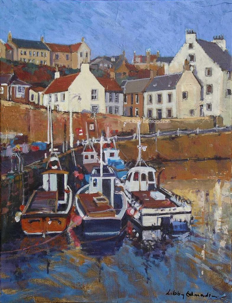 71. Small Boats at Crail