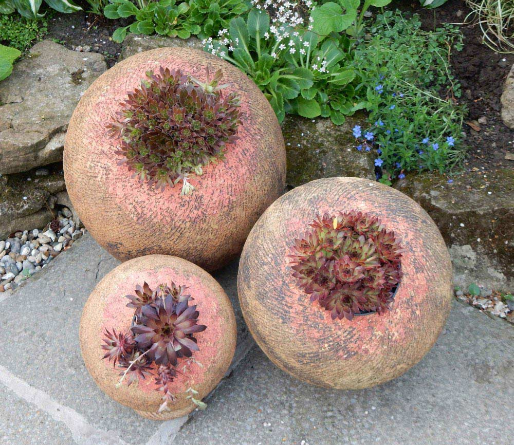 spherical planters 1